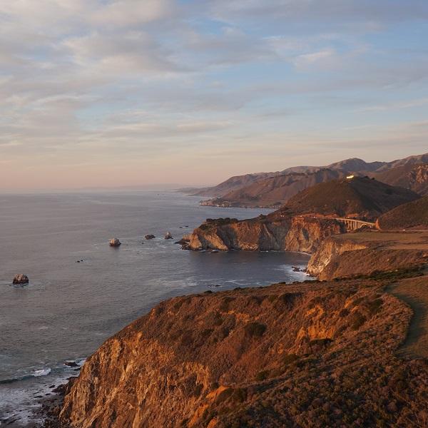 Big Sur et les environs, Californie - États-Unis