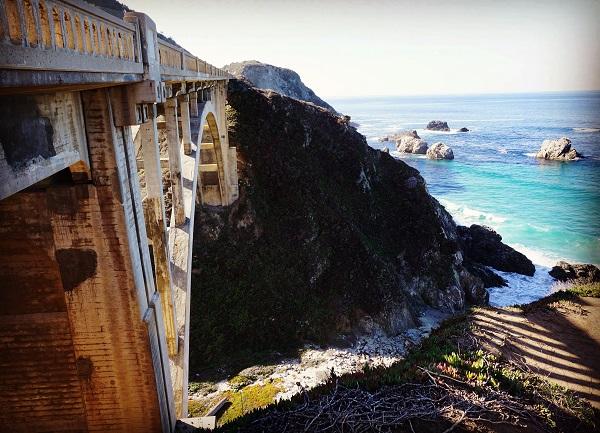 Bixby Bridge - Big Sur et les environs - Californie - États-Unis