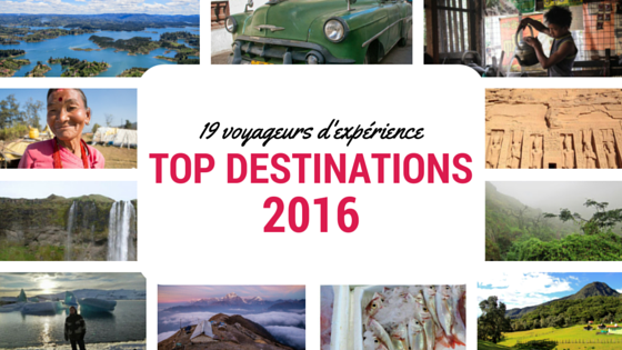 TOP destinations 2016