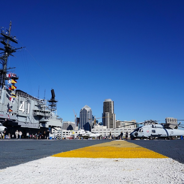 USS Midway - San Diego - Californie - États-Unis