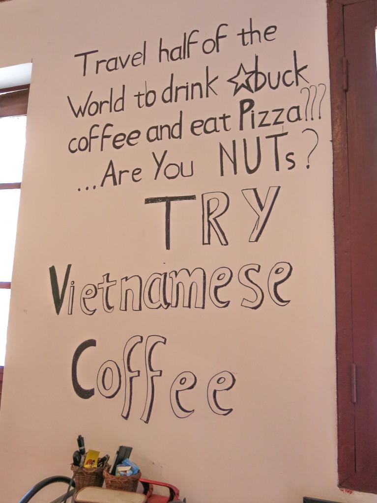 Affiche café vietnamien
