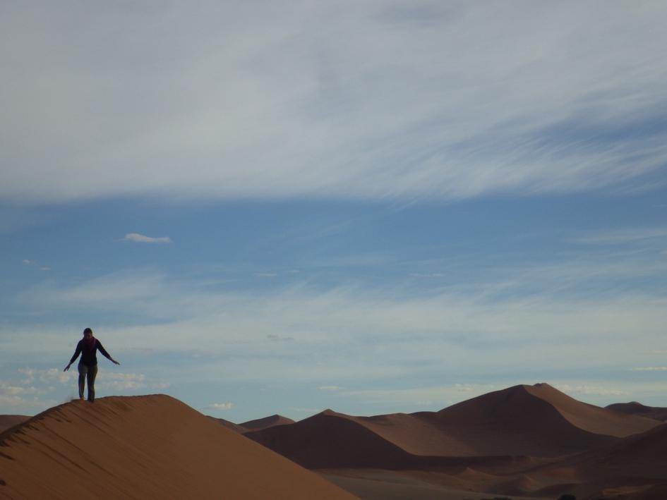 Désert de Namibie en Afrique