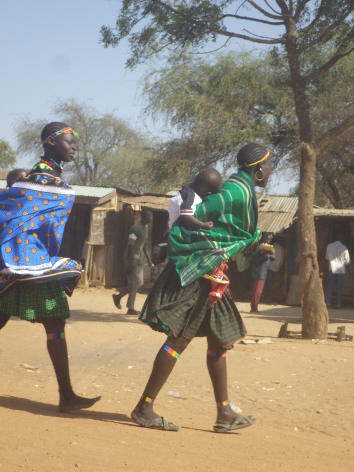 Karamojongs en Ouganda, Afrique