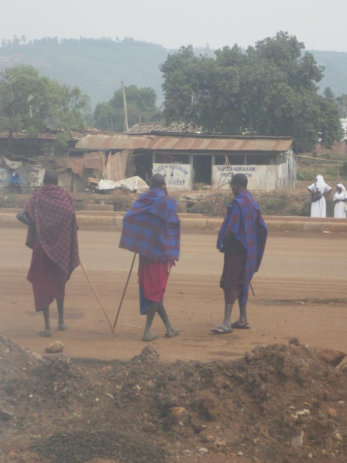 Massaïs au Kenya, Afrique