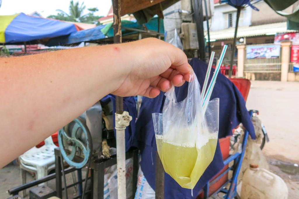Sac de boisson thailandaise