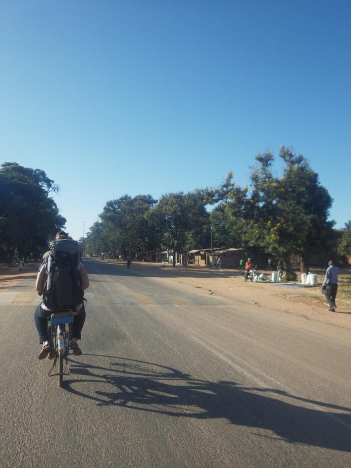 Vélos taxis au Malawi, Afrique