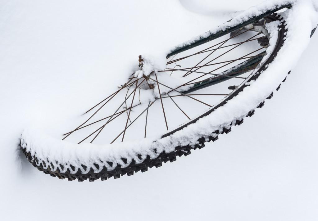 Vélo abandonné - Villeray - Montréal, Québec, Canada-16