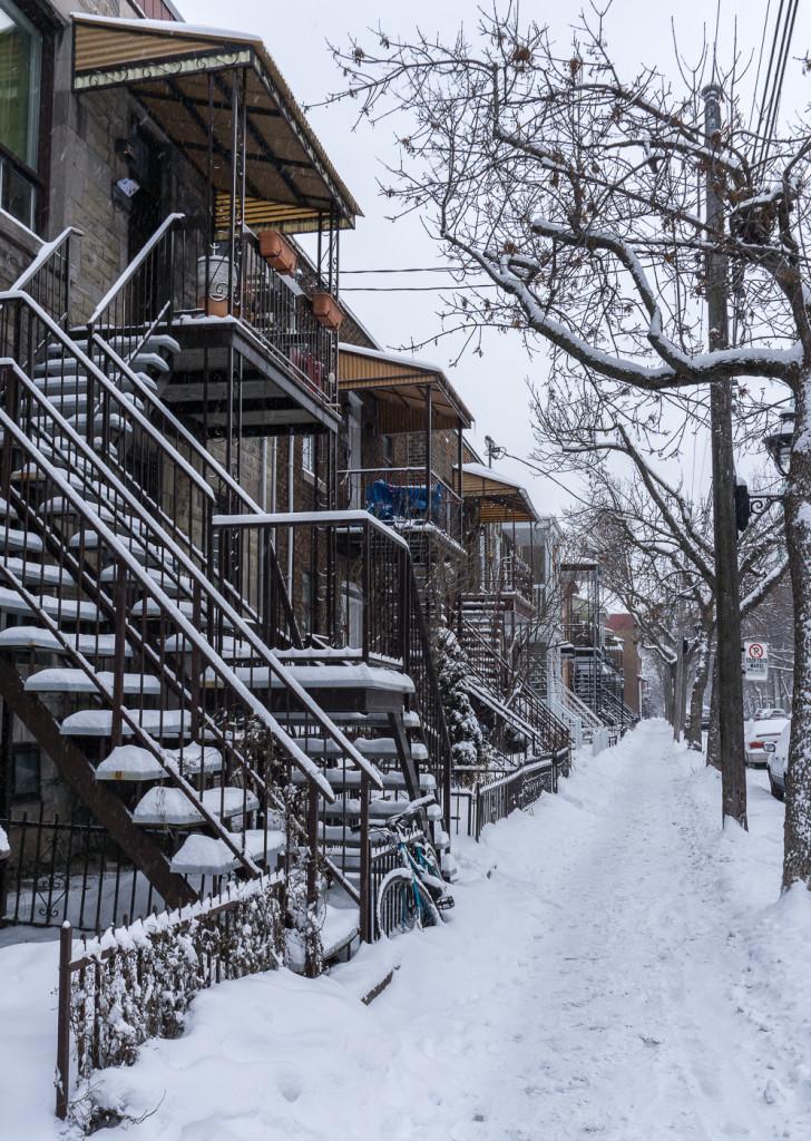 Rues de Villeray - Montréal, Québec, Canada-4
