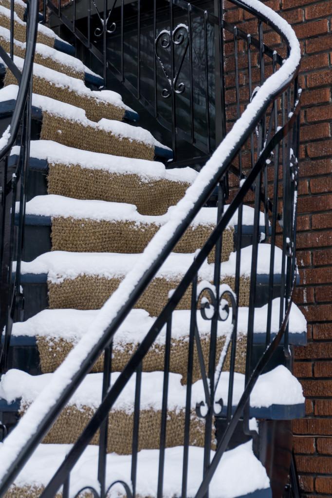 Escalier - Villeray - Montréal, Québec, Canada-6