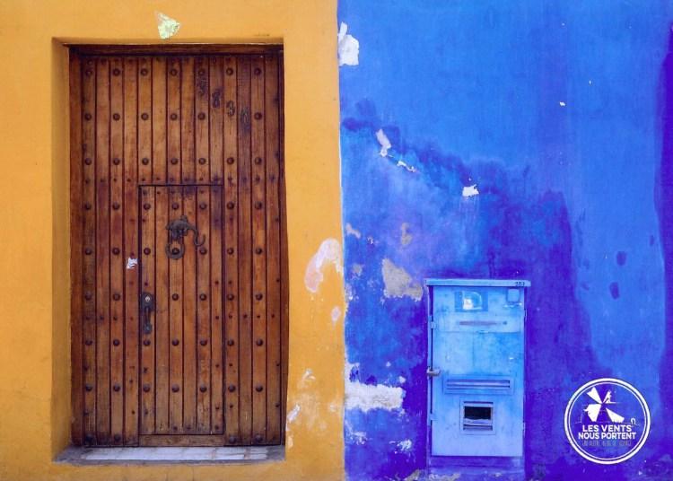 Samuel à Cartagena en Colombie