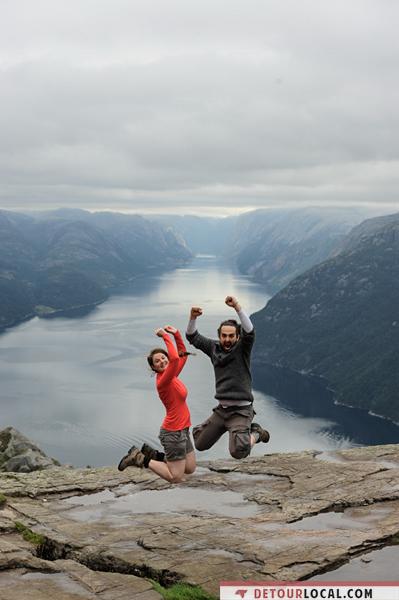 Alizé et Maxime de Détour Local en Norvège