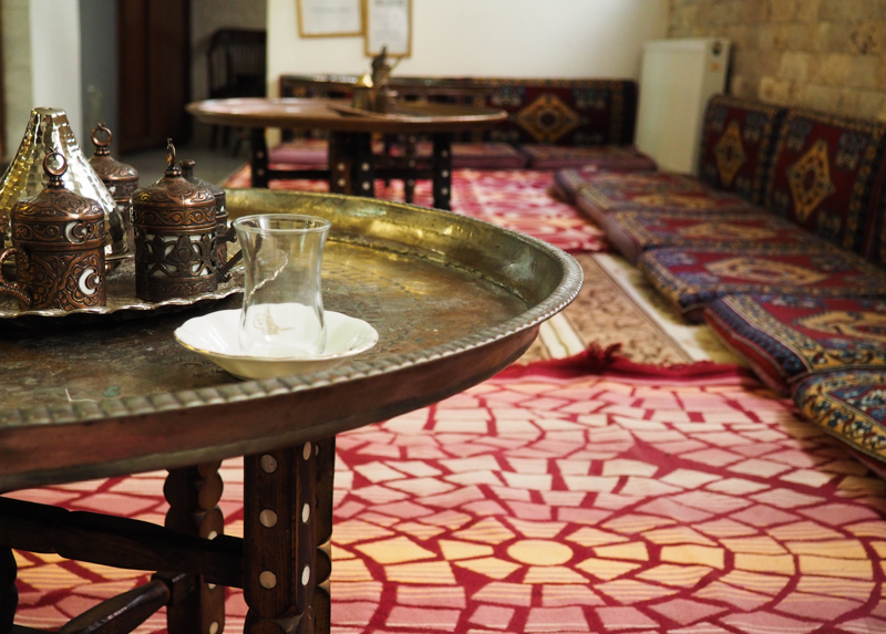 table de thé - Istanbul, Turquie - Annie Picard