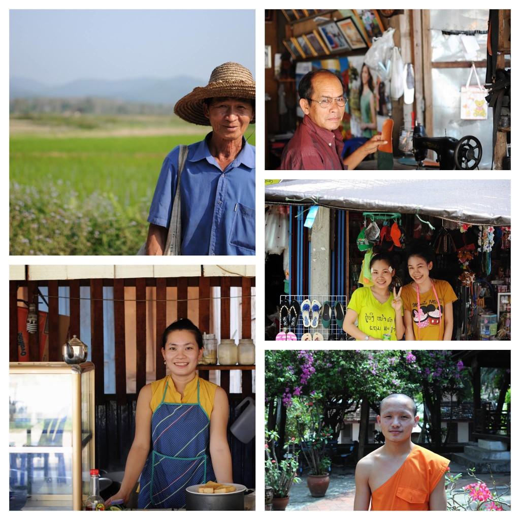Alex et Nadia au Laos