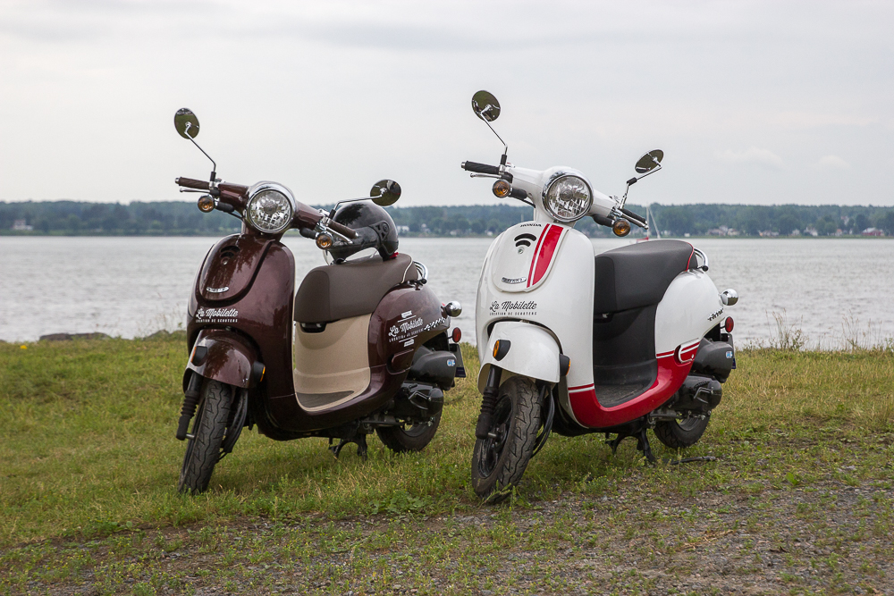 Nos scooters - Trois-Rivieres