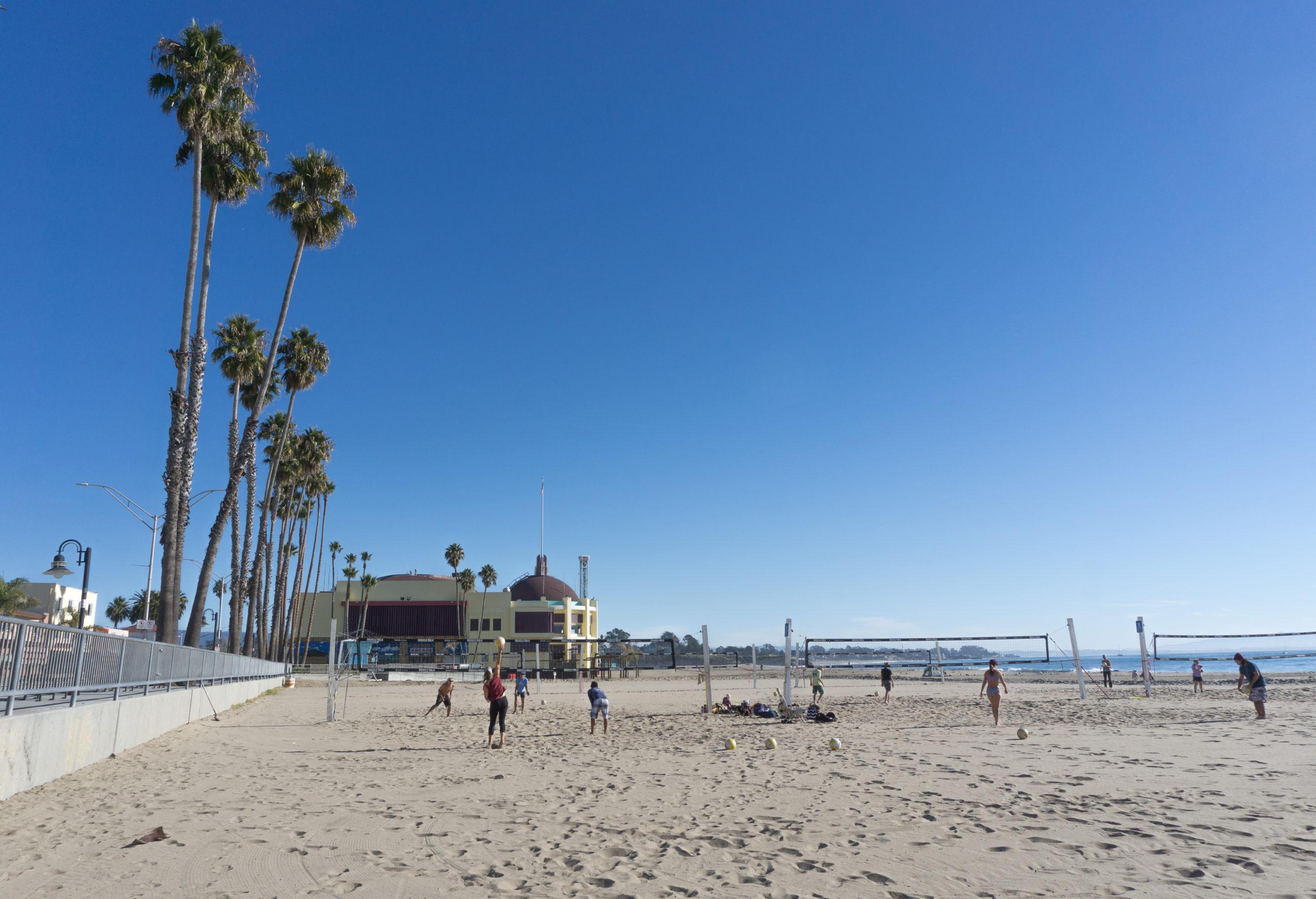 Plage de Santa Cruz, Californie, États-Unis