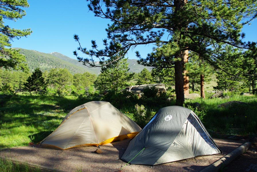 Camping - Voyager en photos