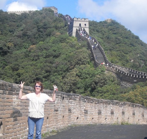 Sylvie en Chine - Le coin des voyageurs