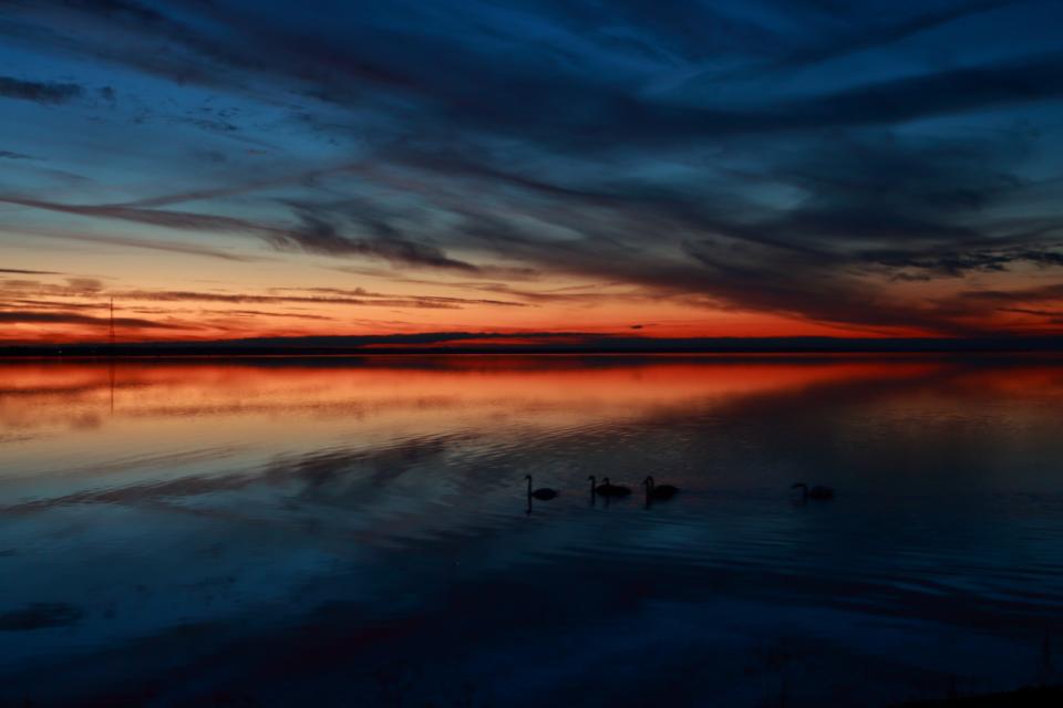 Coucher de soleil en Estonie - Vio'Vadrouille