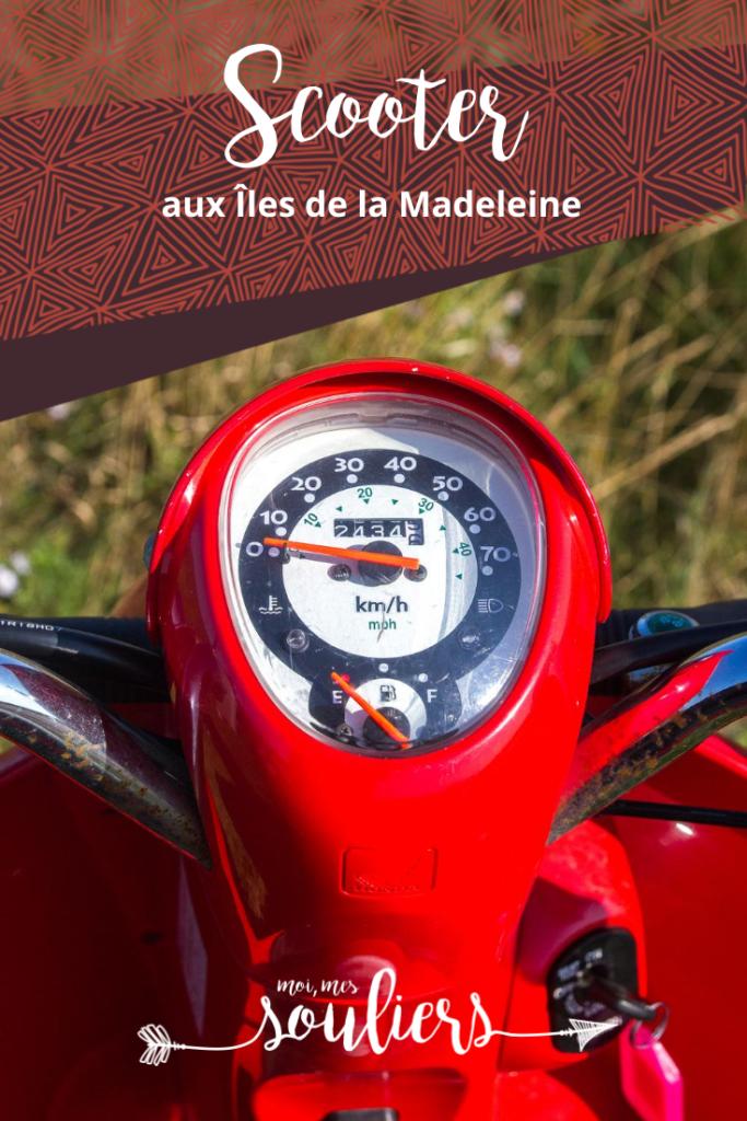 Faire du scooter aux îles de la Madeleine, où le louer?
