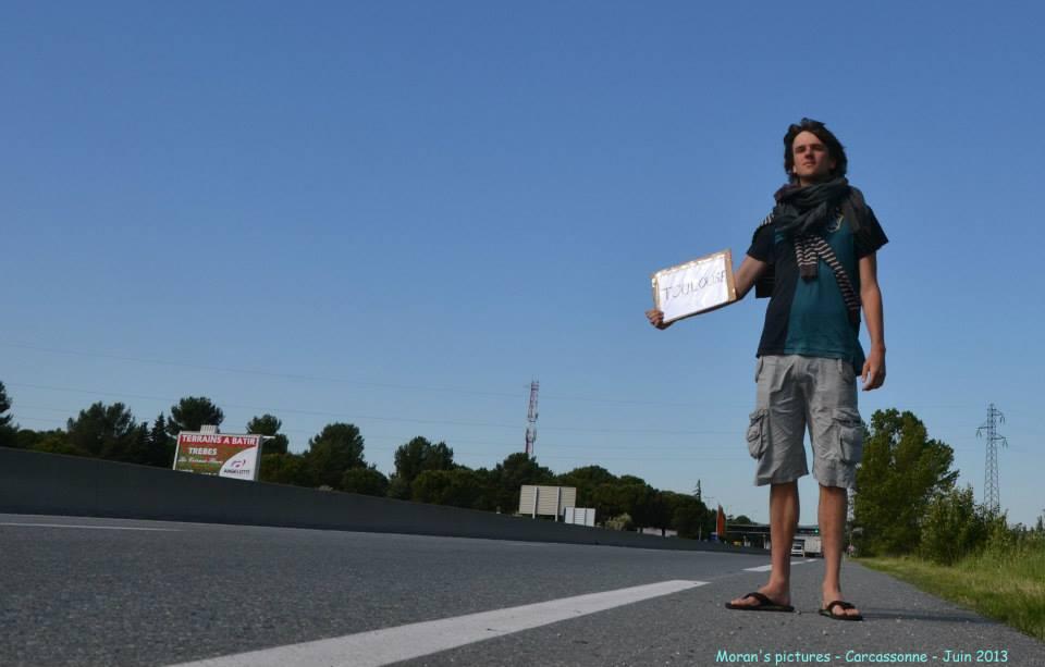 Moran de Rencontre le monde en stop, un pro du voyage à petit prix