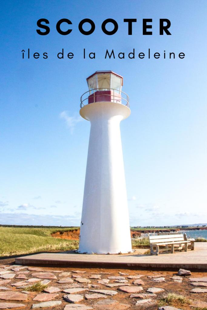 motocyclette aux îles de la Madeleine