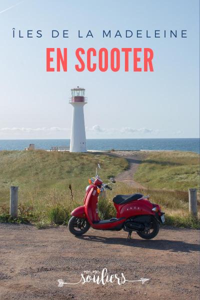 Quoi faire aux îles, du scooter!