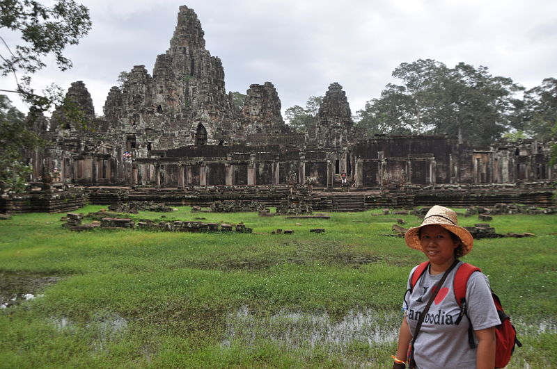 Rattana Chin au Cambodge - Angkor Wat