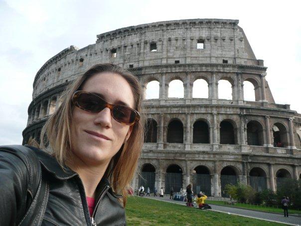 Emily Zanier à Rome