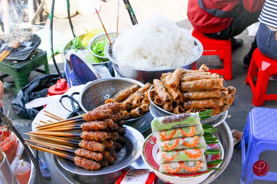 Street food au Vietnam - Povécham