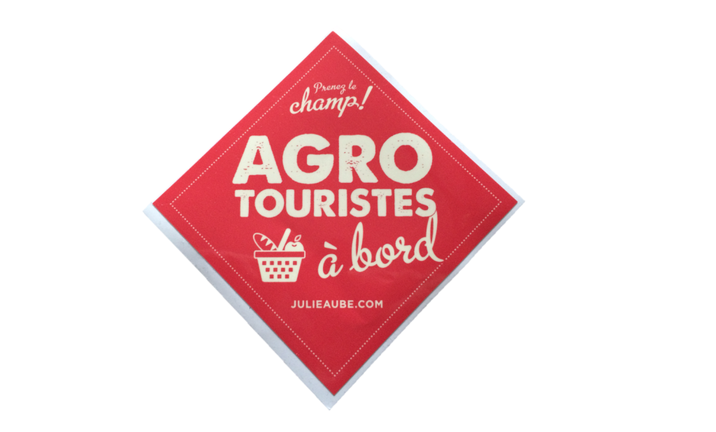 Agrotouristes a bord