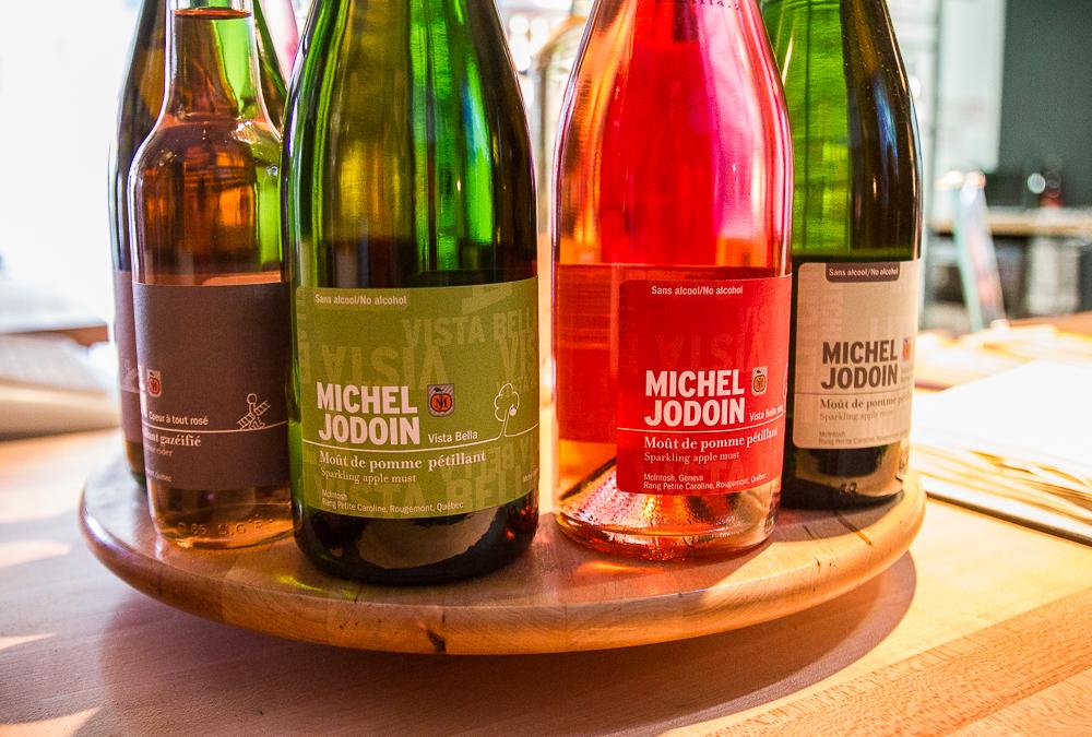 Cidres et cidre de glace - Michel Jodoin