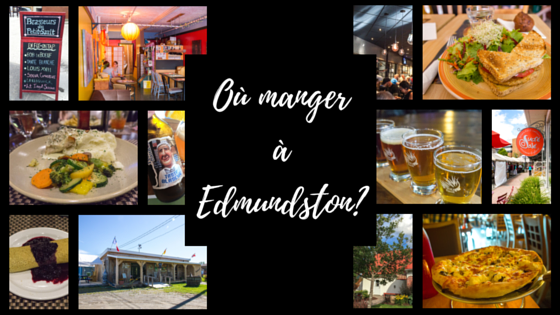 Où manger à Edmundston