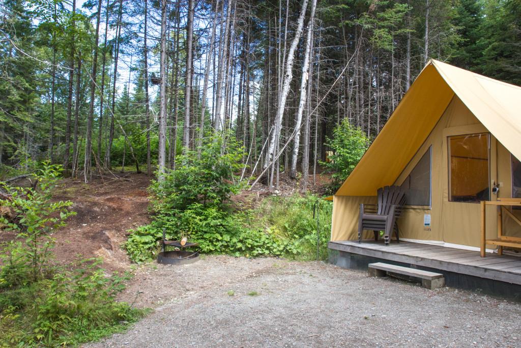 Huttopia - Parc national du Lac-Temiscouata - Tente