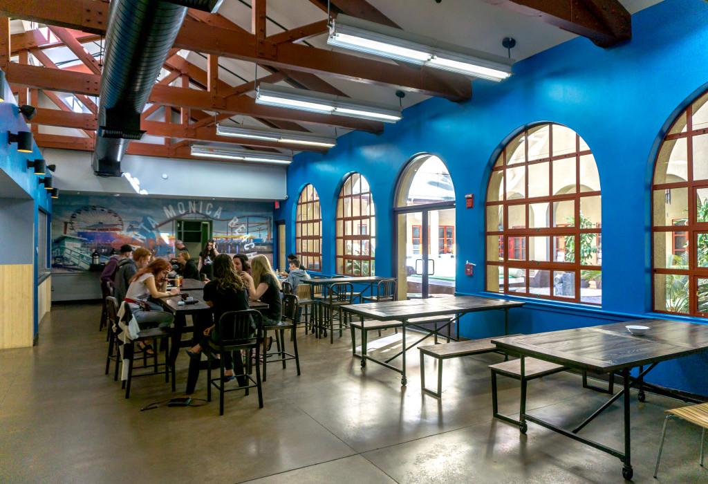 Salle communale du HI Santa Monica, Californie