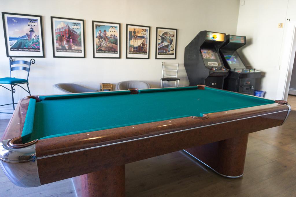Salle d'activités du HI San Diego Downtown