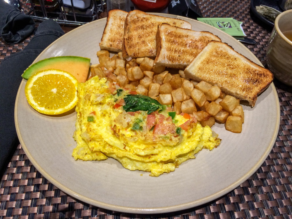Omelette du brunch du Franks Bar & Grill