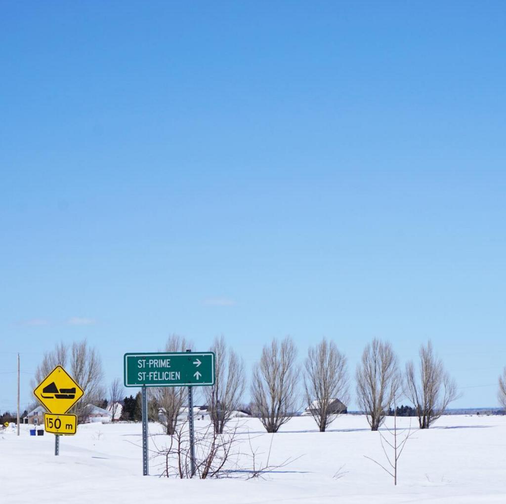 Paysage d'hiver - Agrotourisme - Zone boréale - Saint-Félicien