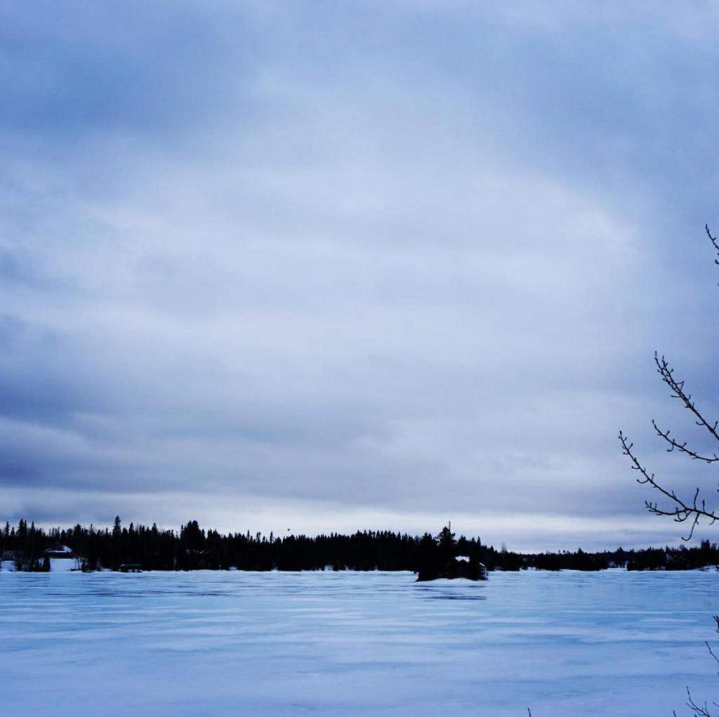 St-David-de-Falardeau - Lac gelé - Saguenay-Lac-Saint-Jean