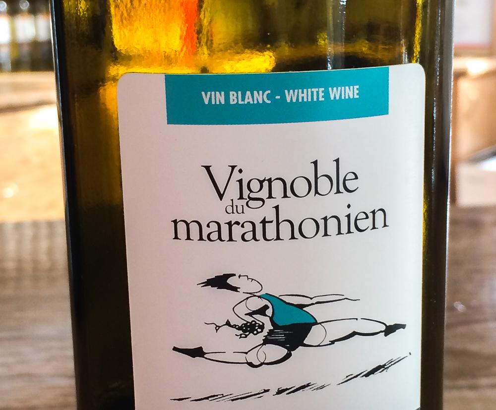 Vin blanc - Vignoble du Marathonien - Montegerie