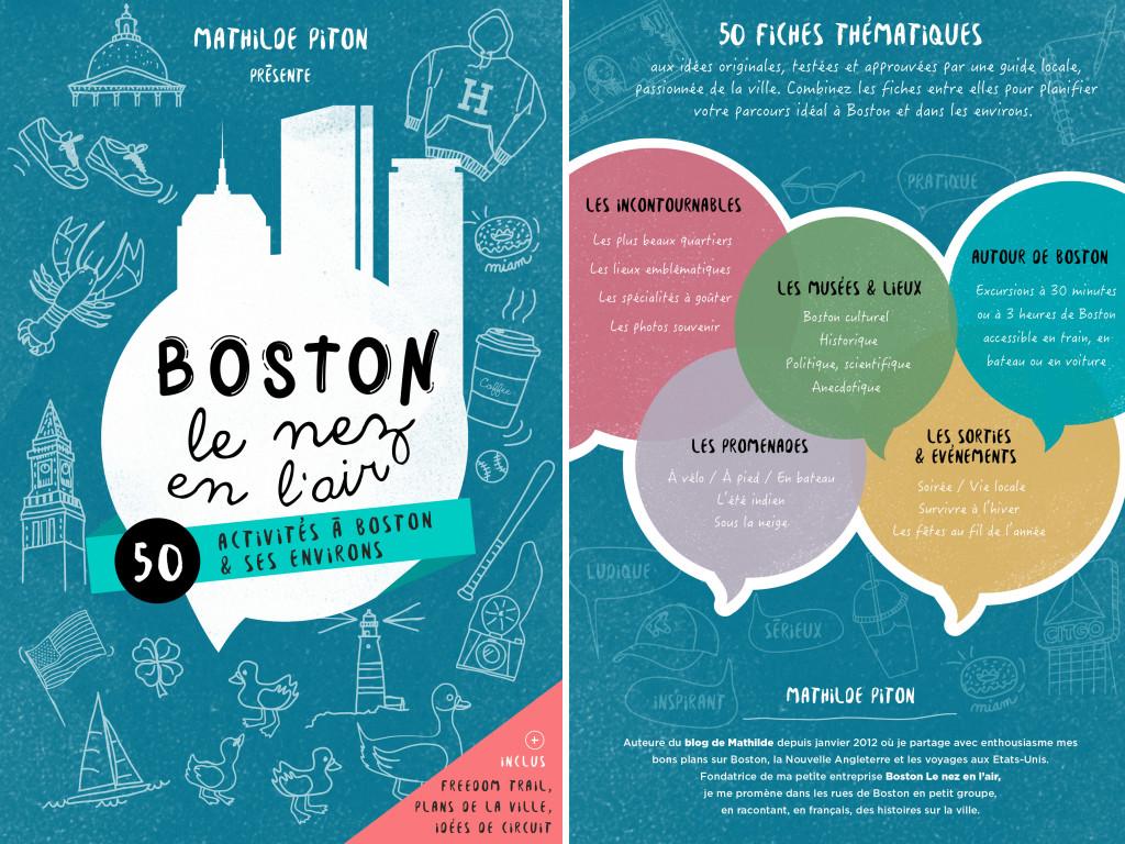 voyage à boston le nez en lair couverture