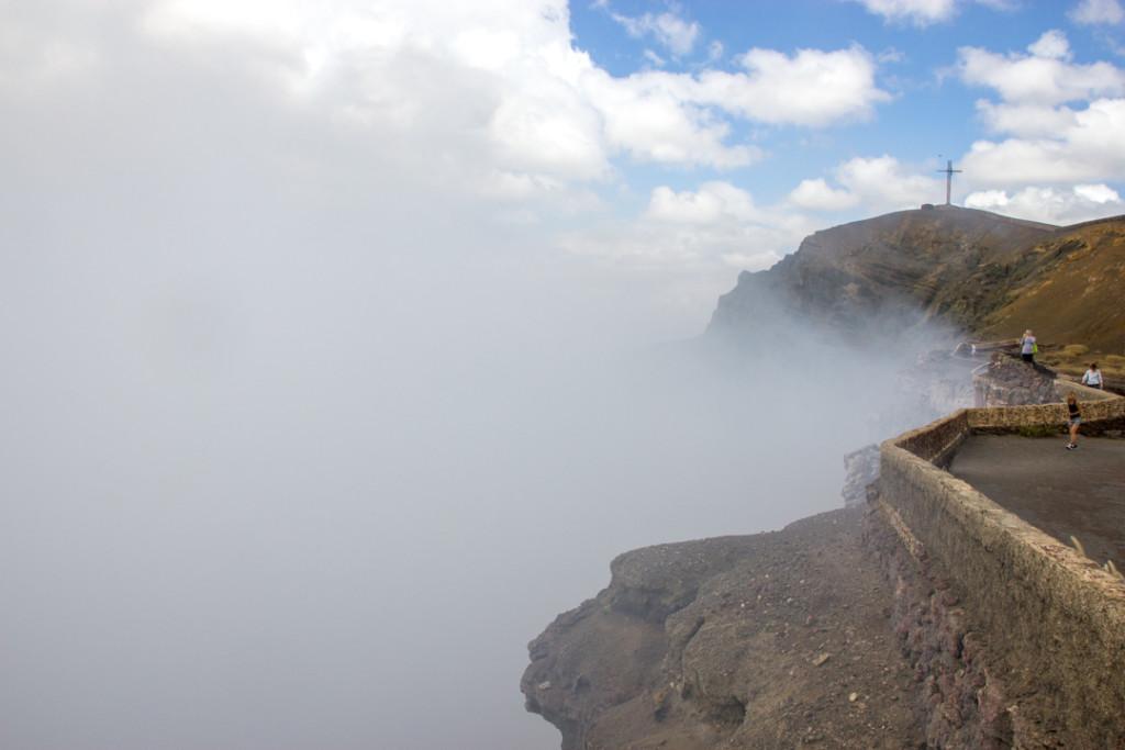 Au sommet du Masaya
