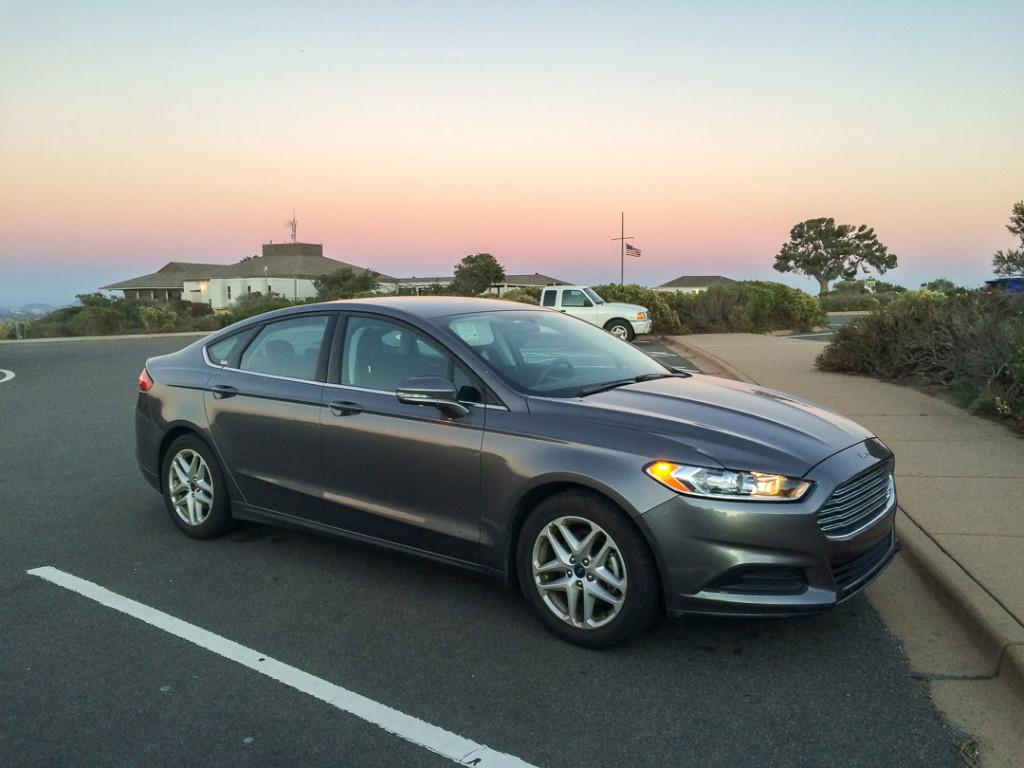 Auto de location en Californie