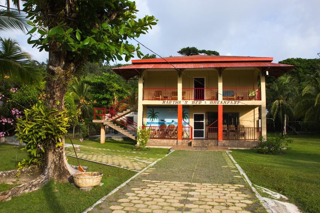 Big Corn Island – Marthas Bed & Breakfast - Nicaragua