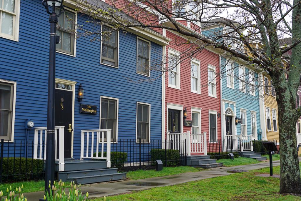 Charlottetown maisons typiques