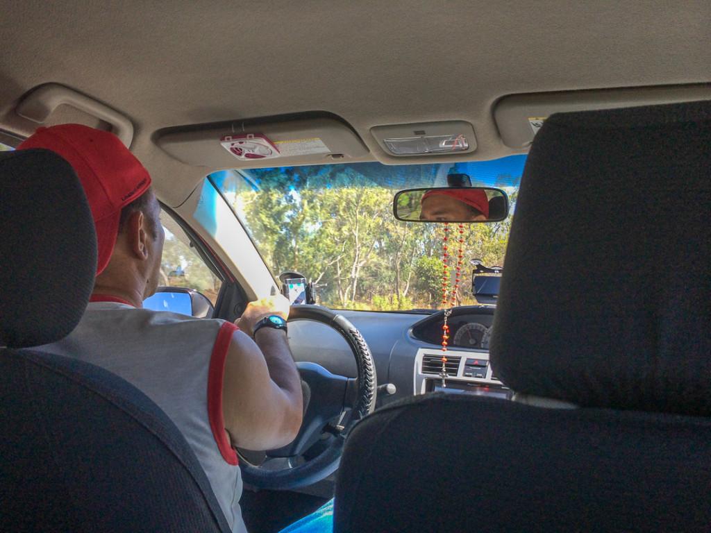 Chauffeur de taxi prive de Managua a Granada - Nicaragua