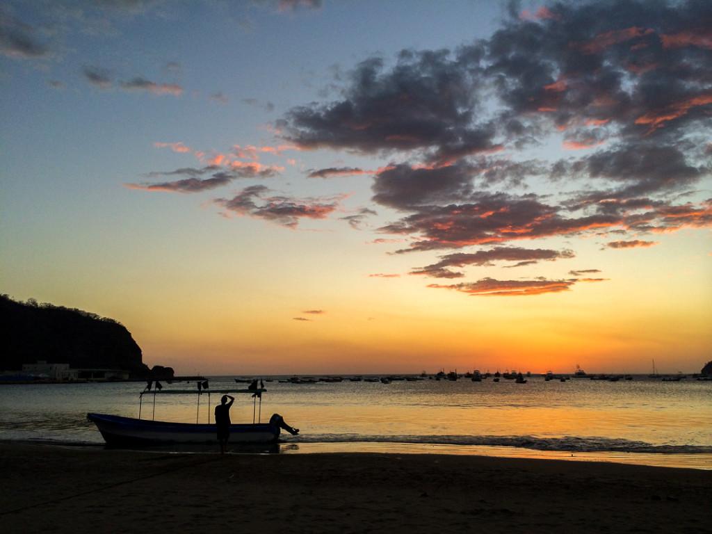 Coucher de soleil San Juan del Sur