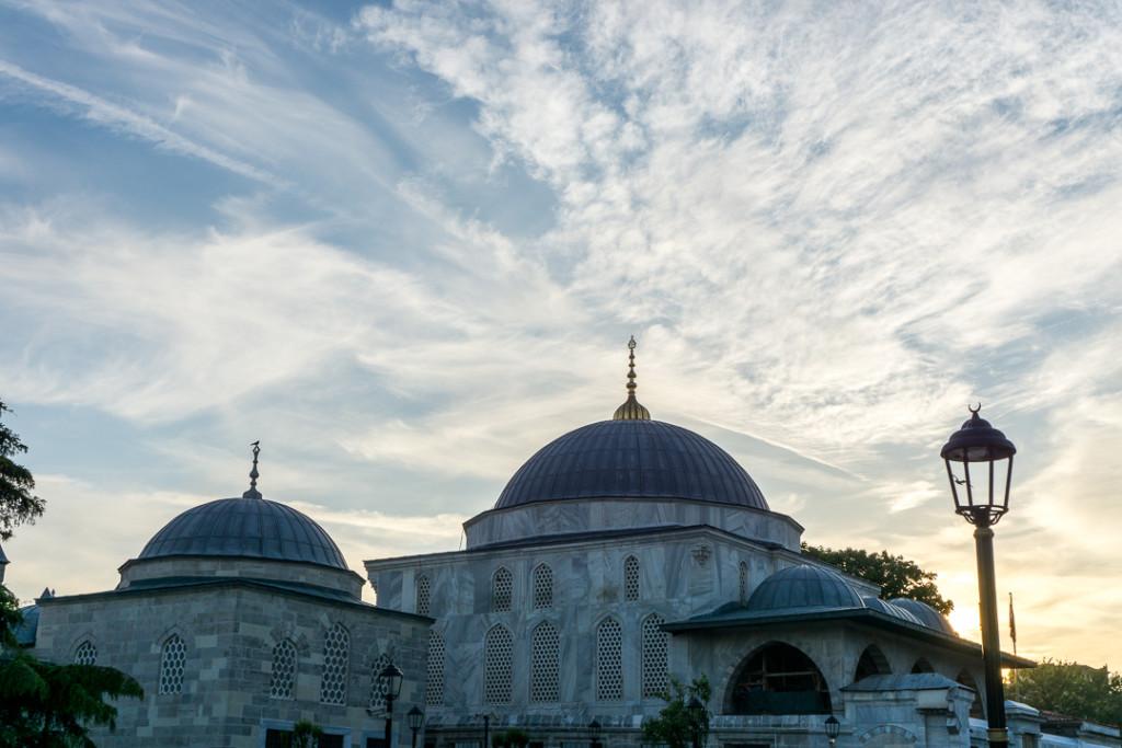Coucher de soleil a Istanbul