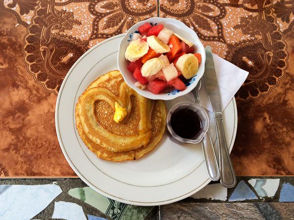 Dejeuner - Hostal Lazybones - Leon - Nicaragua