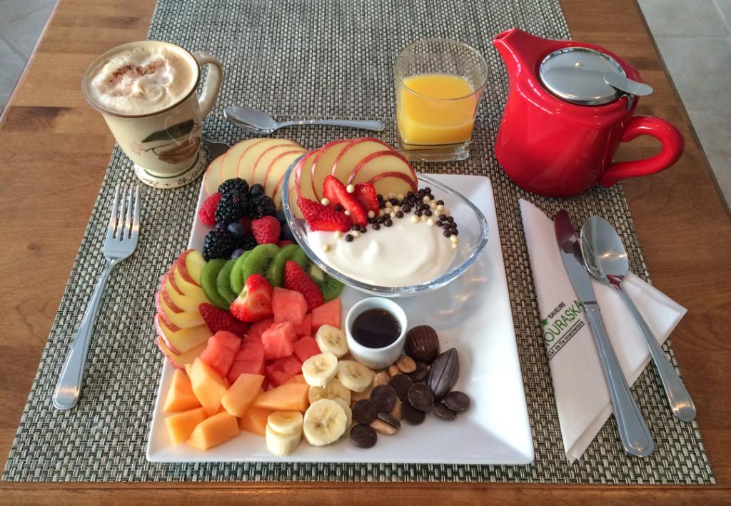 Dejeuner gourmand - La fee gourmande - Kamouraska