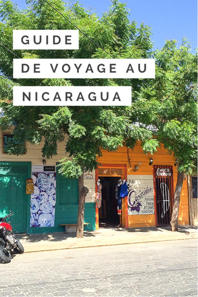 GUIDE DE VOYAGE AU NICARAGUA DE A A Z
